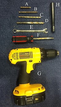 Tools needed to install new fence