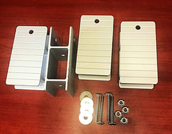 "1 1/4"" High Rise Bracket Kit - FenceForPontoons.com"