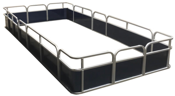 "14'4"" Pontoon Fence Package - FenceForPontoons.com"
