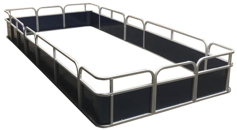 "16'4"" Pontoon Fence Package - FenceForPontoons.com"