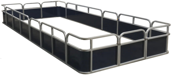18' Pontoon Fence Package - FenceForPontoons.com