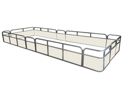 "23'8"" Stern Entry Fence Package - FenceForPontoons.com"