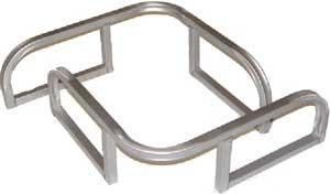 Bow Swim Rails - FenceForPontoons.com