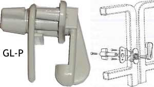 Gate Latch - FenceForPontoons.com