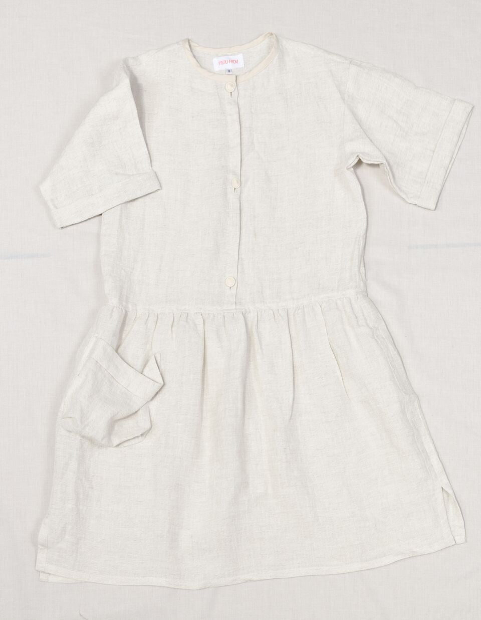 ROBE CHEMISE OFFWHITE