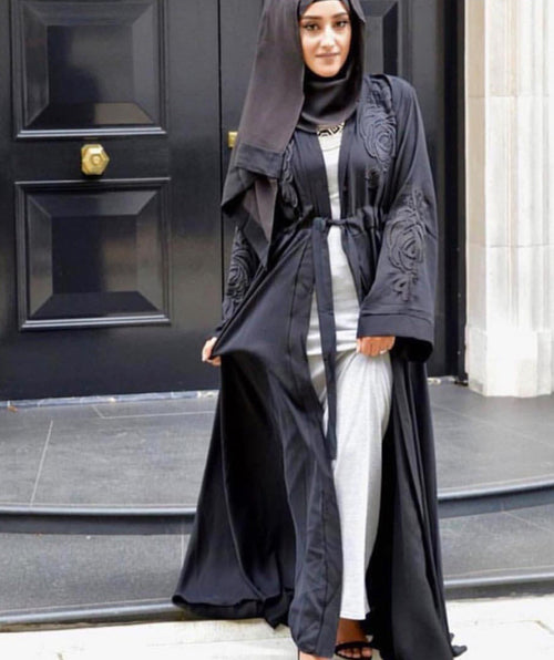 MYAH OPEN ABAYA - Husna Collections