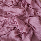 CRINKLED DUSTY PINK - Husna Collections