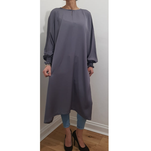 AROUS MIDI GREY - Husna Collections