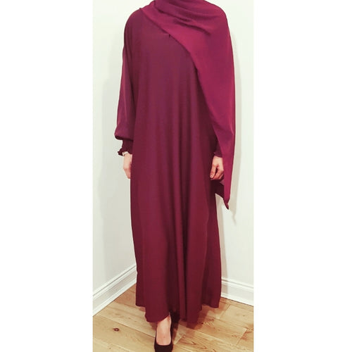 AROUS ABAYA RED