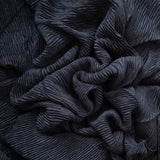 CRINKLED BLACK - Husna Collections