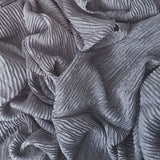 CRINKLED GREY - Husna Collections