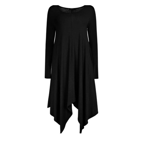 SWING DRESS BLACK - Husna Collections