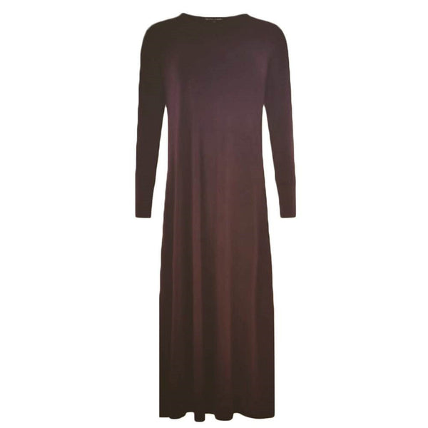 CASUAL BROWN - Husna Collections