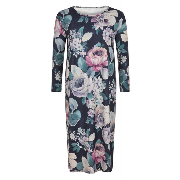 FLORAL MIDI DRESS - Husna Collections