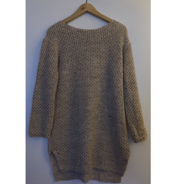 STONE KNIT MIDI JUMPER