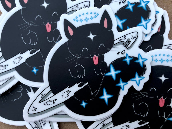 Great Grand Mother Cat Vinyl Sticker
