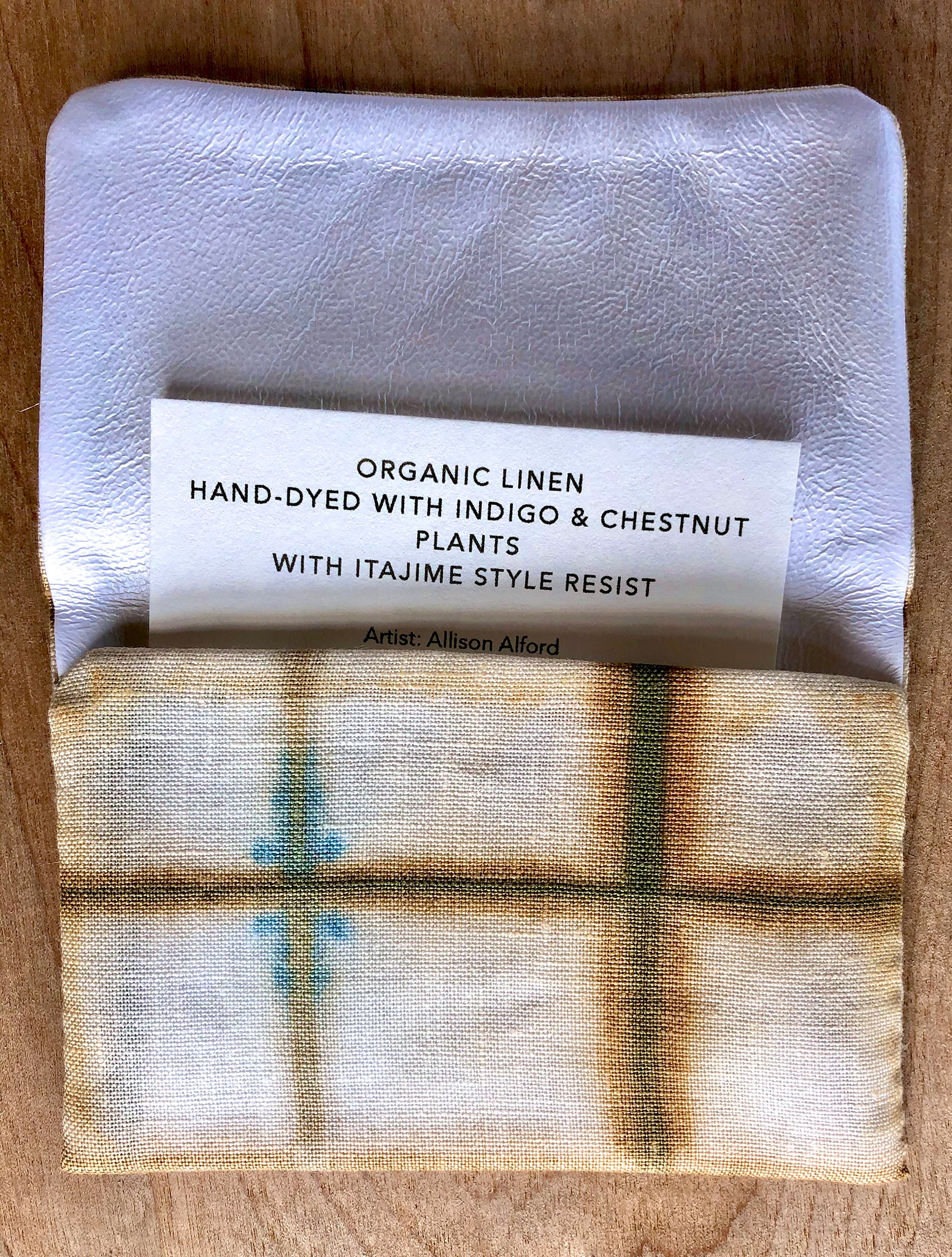 Hand-Made Chakin Ire Naturally Dyed with Plants