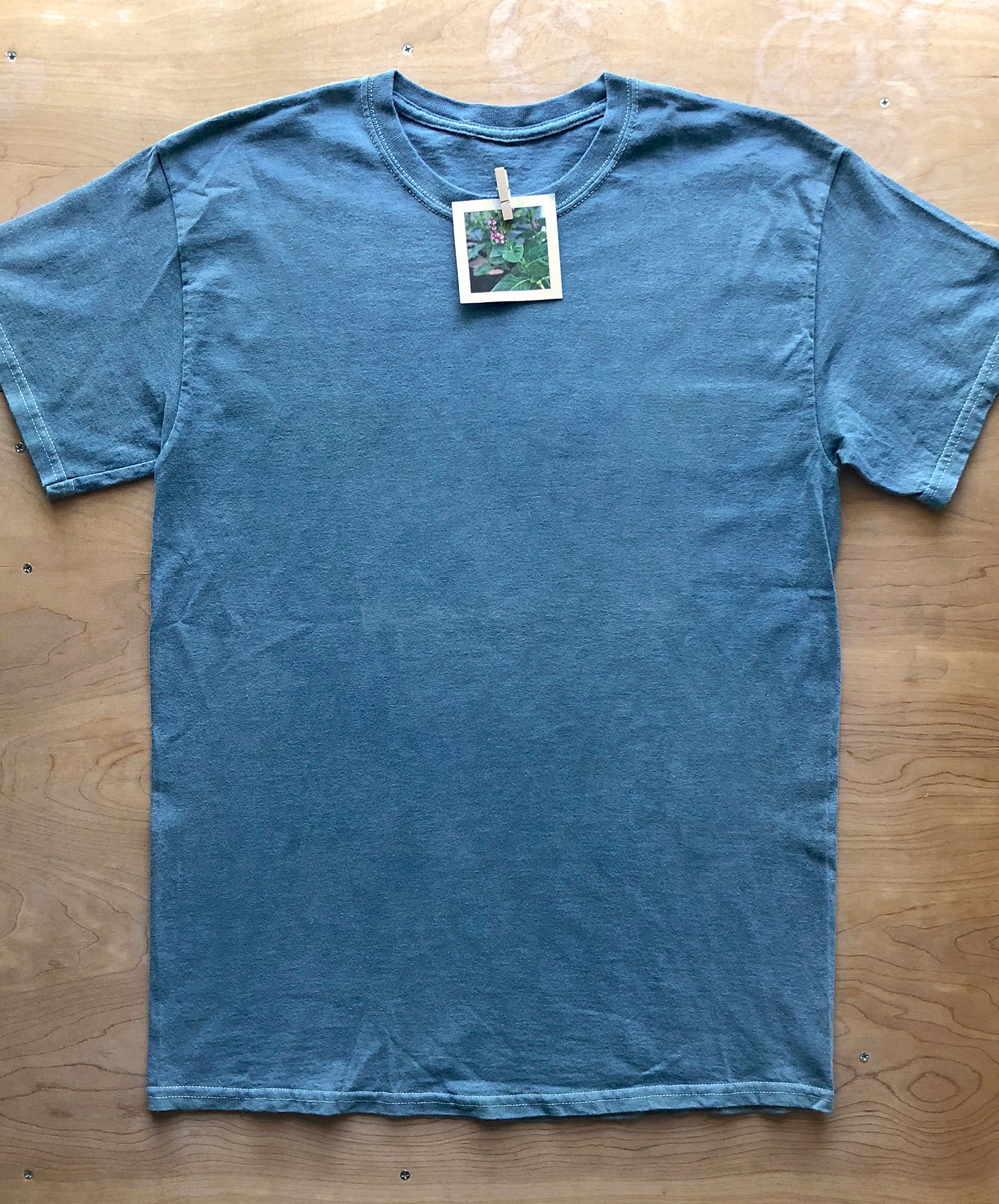 Naturally Dyed, Solid Color T-shirts