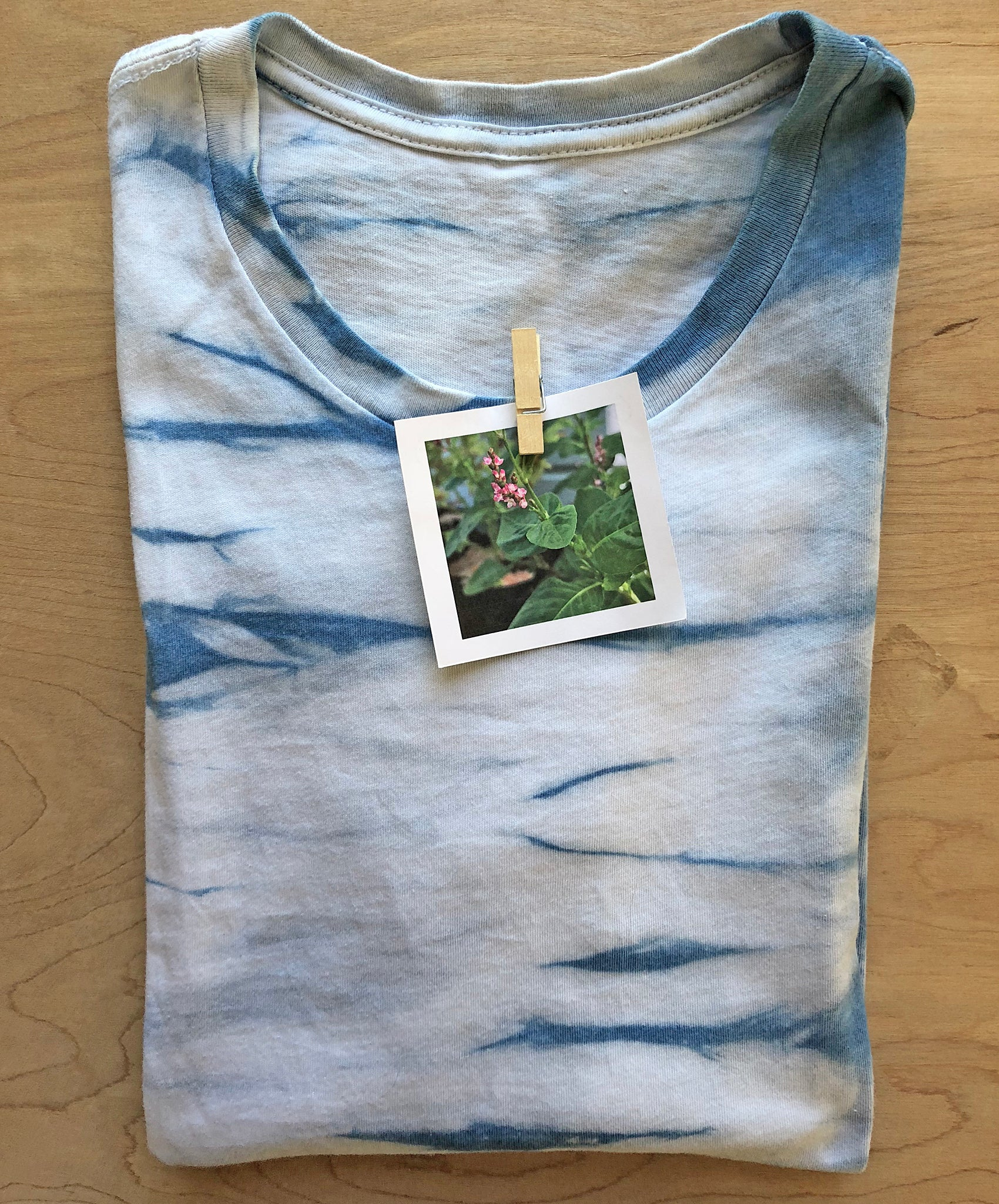 Indigo T-shirt, small