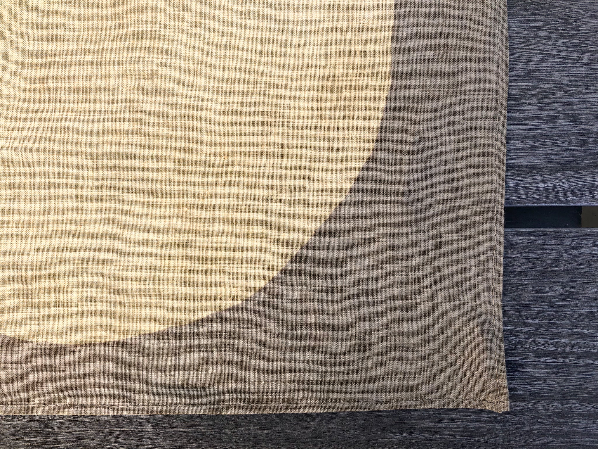 "Chestnut-dyed Table Linen, 13"" x 12"""