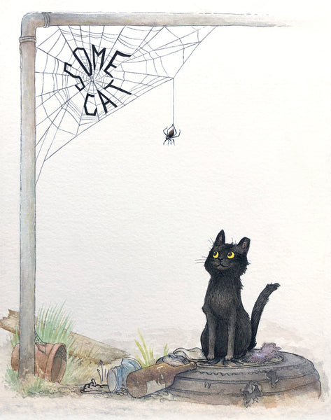 Some Cat, Fine Art Print