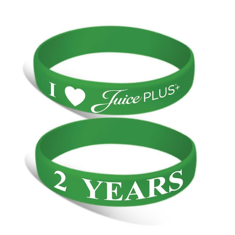 Silicone Wrist Bands - Years