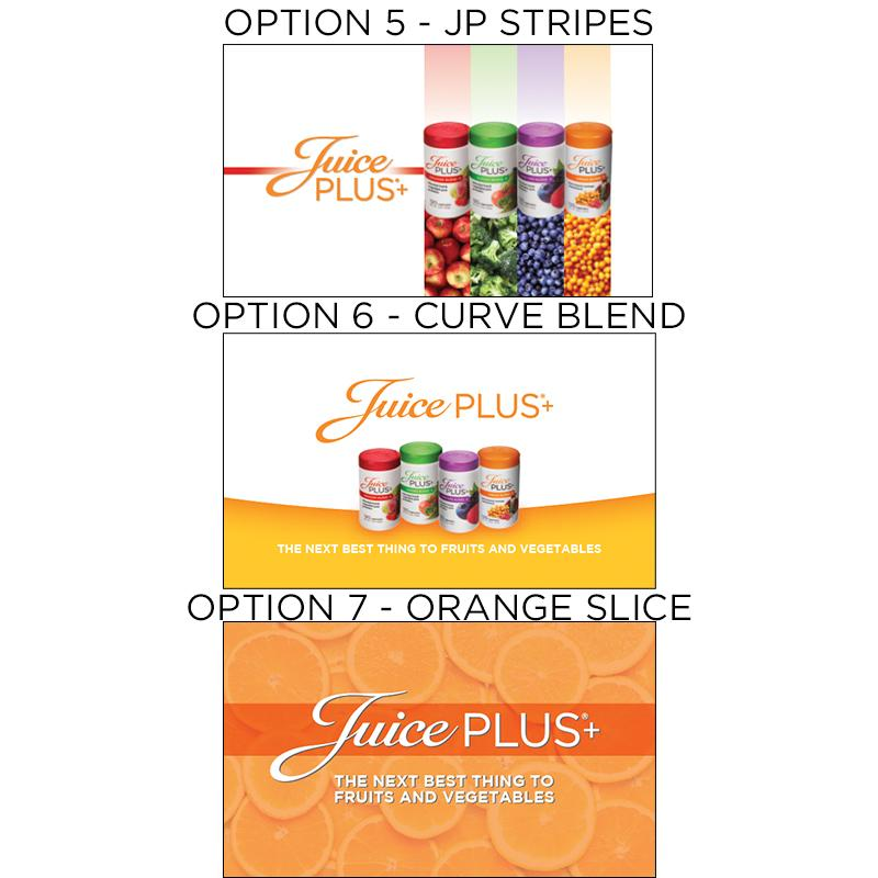 Juice Plus+ Business Card - Orange Stamp