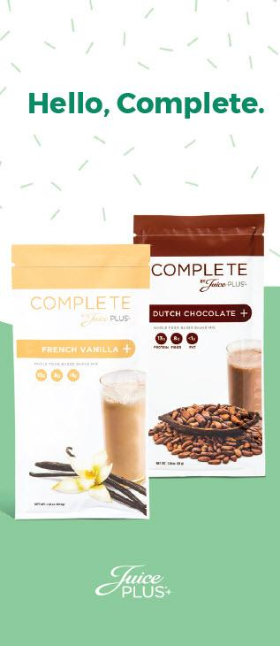 New Complete Sample Card - Juice Plus+ Promotions