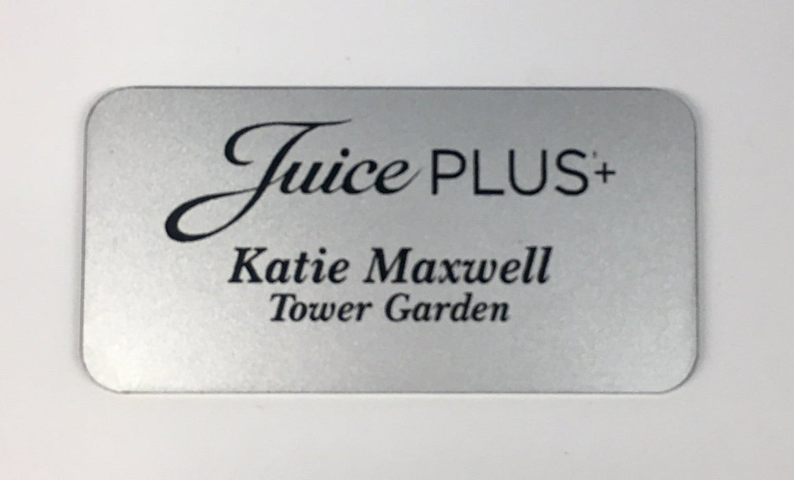 Juice Plus Custom Name Tag