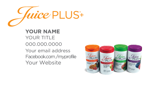 Business cards tagged blend juice plus promotions juice plus business card blend juice plus promotions colourmoves