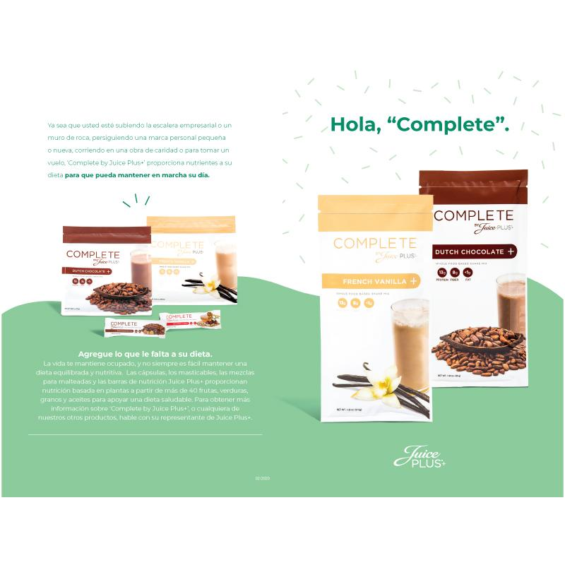 Spanish - Complete Brochure - Juice Plus+ Promotions