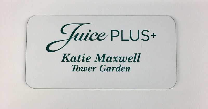 Juice Plus Custom Name Tag - Juice Plus+ Promotions