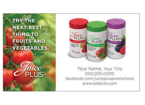 Business cards juice plus promotions juice plus business card three blends juice plus promotions colourmoves