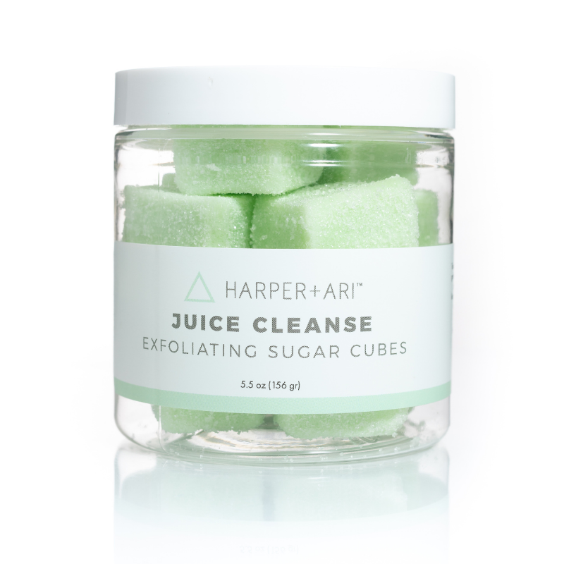 Juice Cleanse Sugar Cube Jar