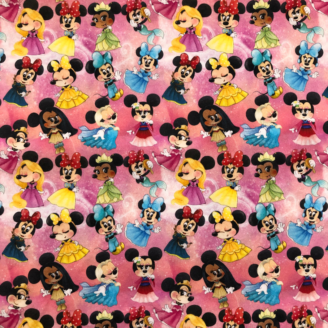 Face Mask - Minnie Mouse - Princess