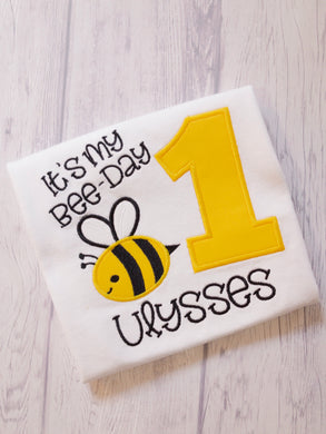 Bee Birthday Shirt