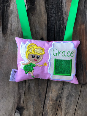 Fairy - Tinkerbelle Tooth Fairy Pillow - Personalized
