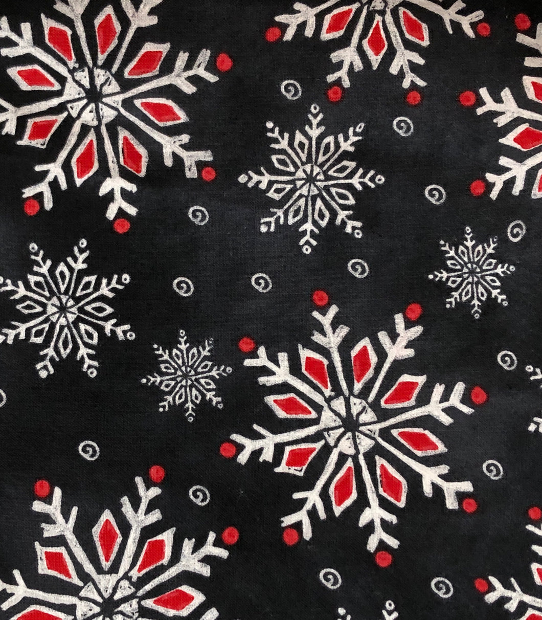 Face Mask - Christmas - Snowflakes