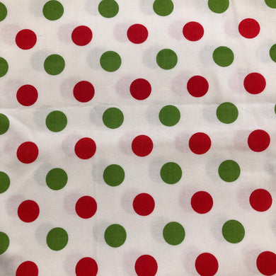 Face Mask - Christmas - Polka Dots