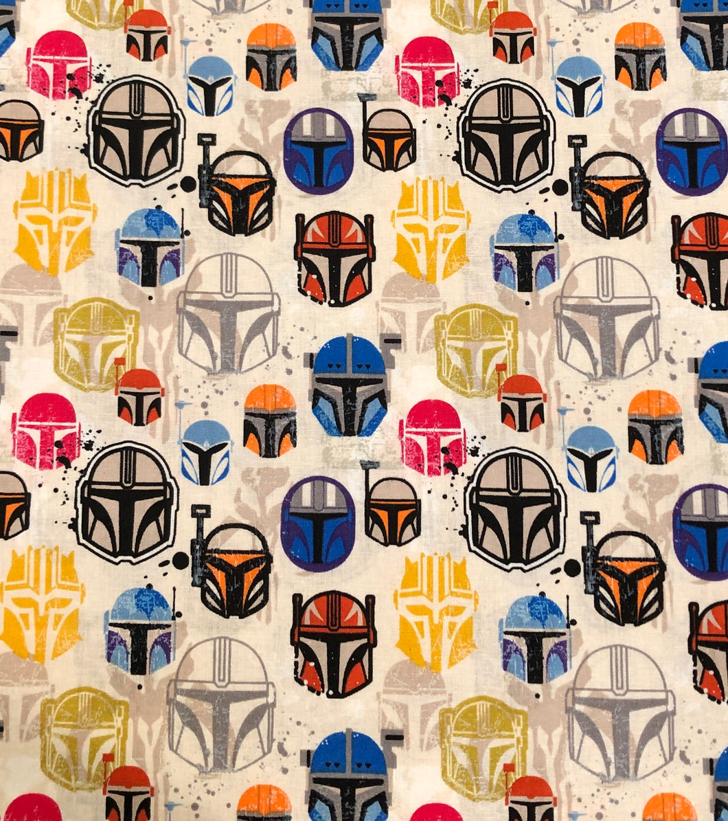 Face Mask - Mandalorian - Multi Colour