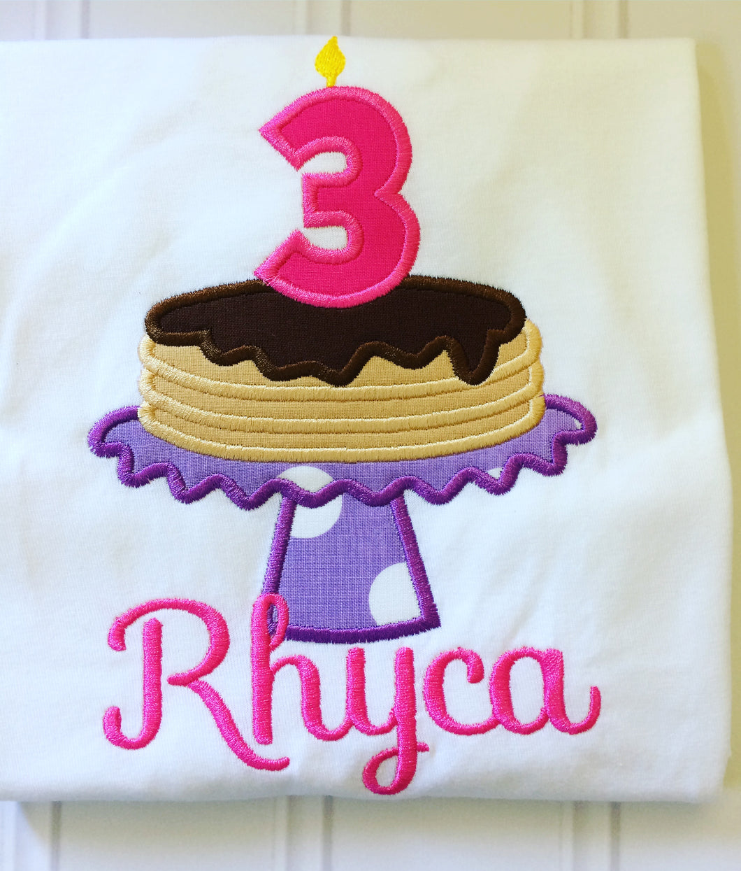 Pancakes Birthday Shirt