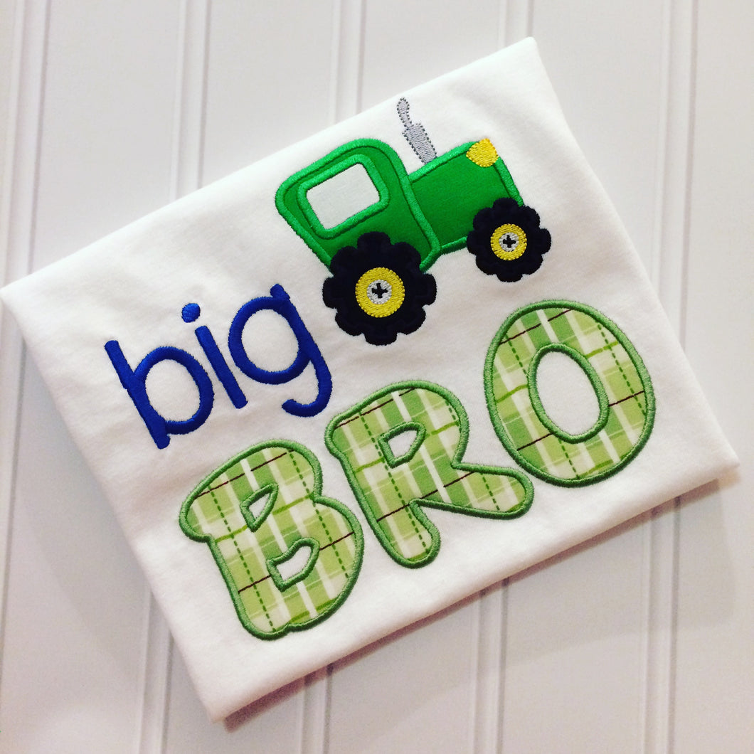 Big Brother Shirt - Tractor