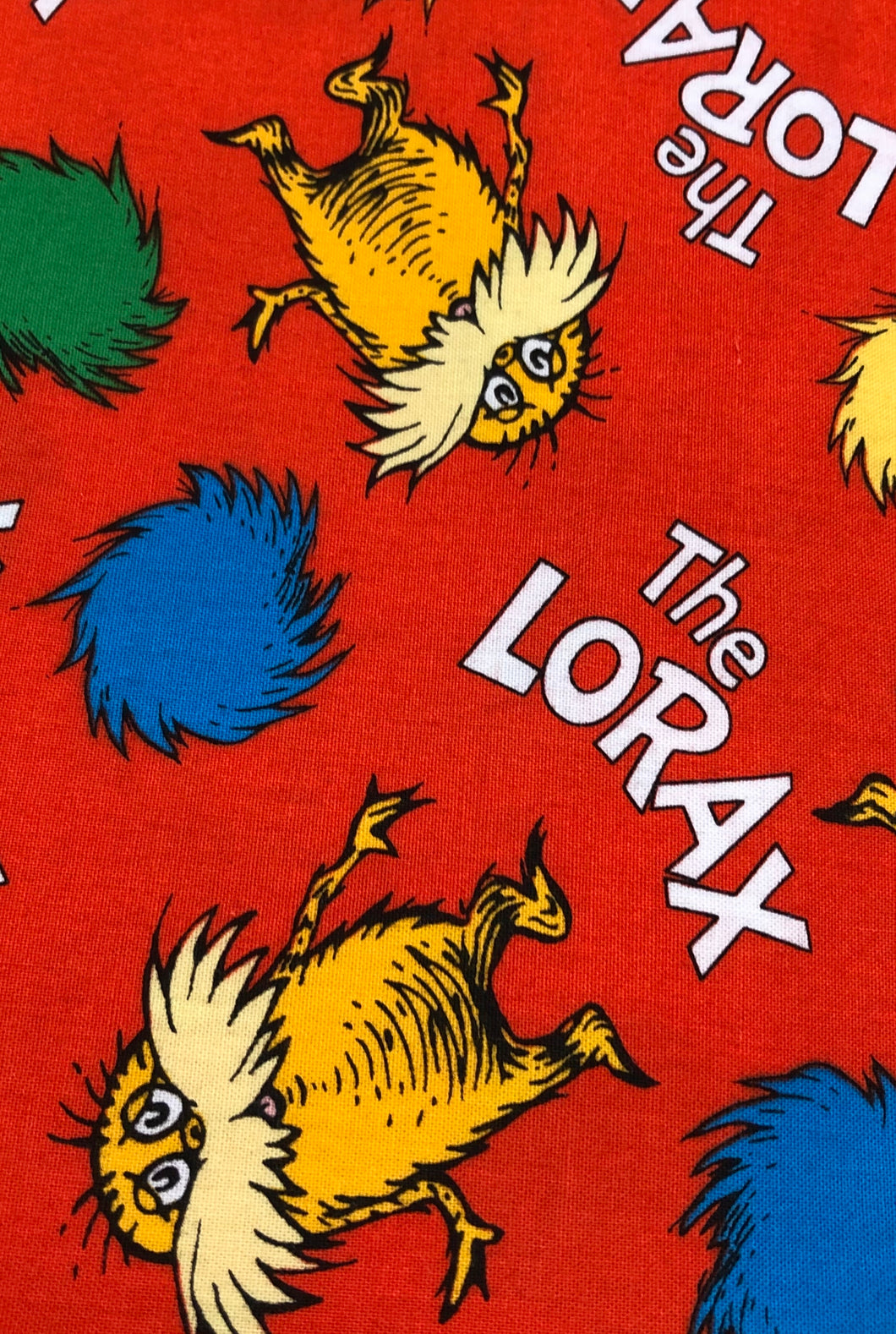 Face Mask - Kids - Dr. Seuss - Lorax