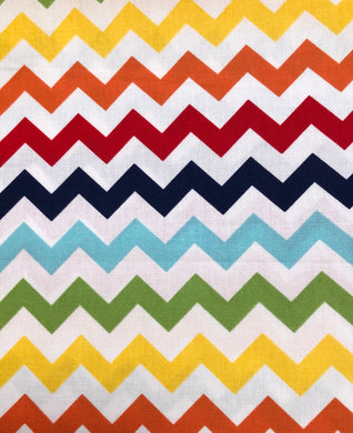Face Mask - Chevron - Multi Colour