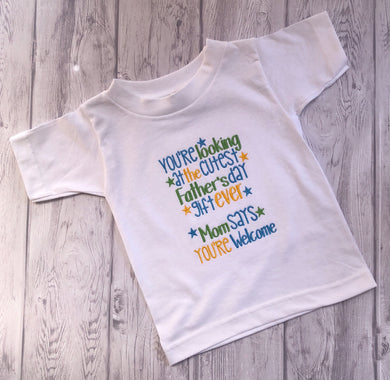 Father's Day child shirt