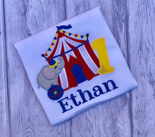 Circus Birthday Shirt - Elephant