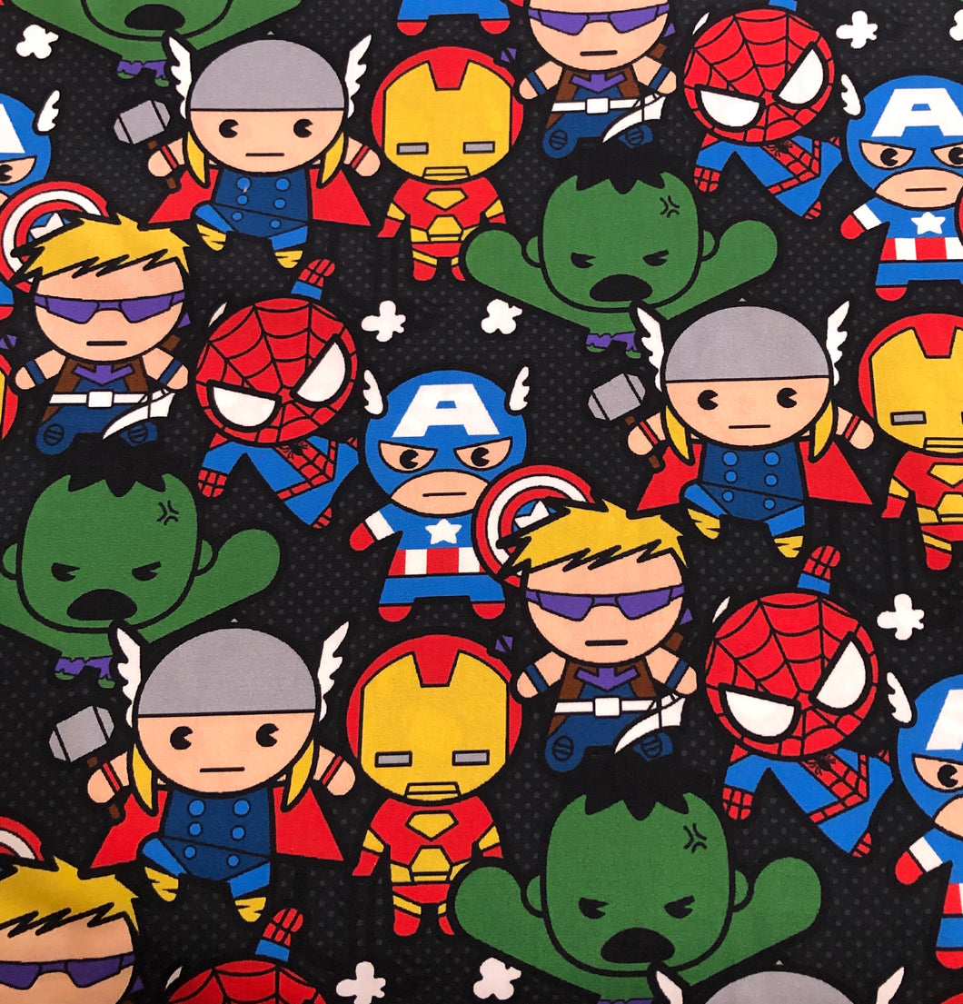Face Mask - Marvel Heroes - Large Print