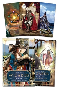 Wizards Tarot by Barbara Moore, Mieke Janssens