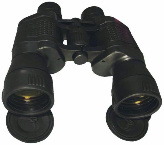 10X Power Binoculars with 50mm Ruby Coated Lens - Black
