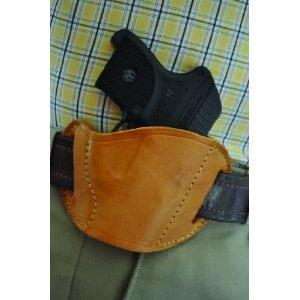 PTBSSTN Leather Belt Slide Holster Tan Small